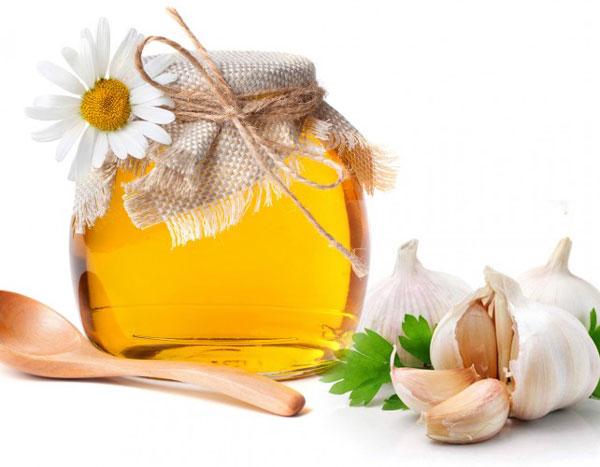 mật ong tỏi