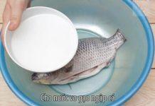 Khử mặn cho cá khô