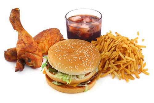 Không nên ăn thức ăn nhanh