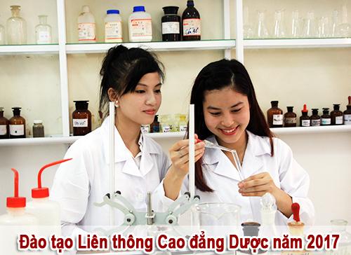 Đào tạo liên thông Cao đẳng Dược năm 2017