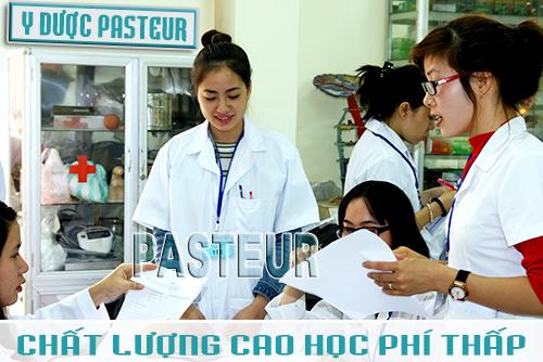 Trường Cao đẳng Dược Pasteur chất lượng cao học phí thấp