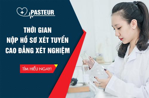 Thời gian nộp hồ sơ Cao đẳng Xét nghiệm tại Hà Nội