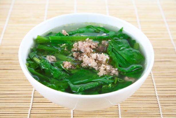 Sử dụng rau cải xanh rất tốt cho sức khỏe