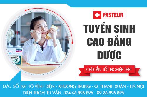 Địa chỉ tuyển sinh Cao đẳng Dược tại Hà Nội