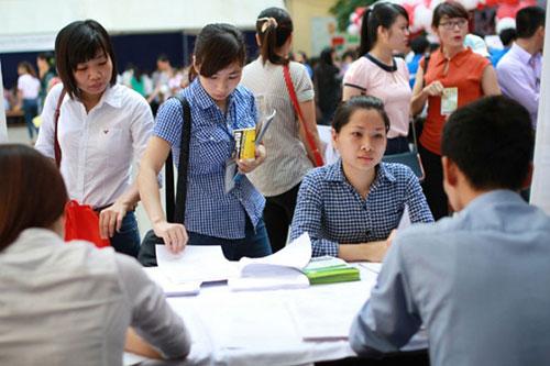 Sinh viên Đại học cũng đang tìm kiếm việc làm khắp mọi nơi