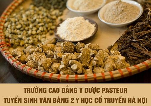 Tuyển sinh văn bằng 2 Trung cấp Y học cổ truyền học tại Hà Nội