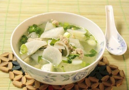 Món ăn chế biến từ củ cải hỗ trợ điều trị rối loạn tiêu hóa