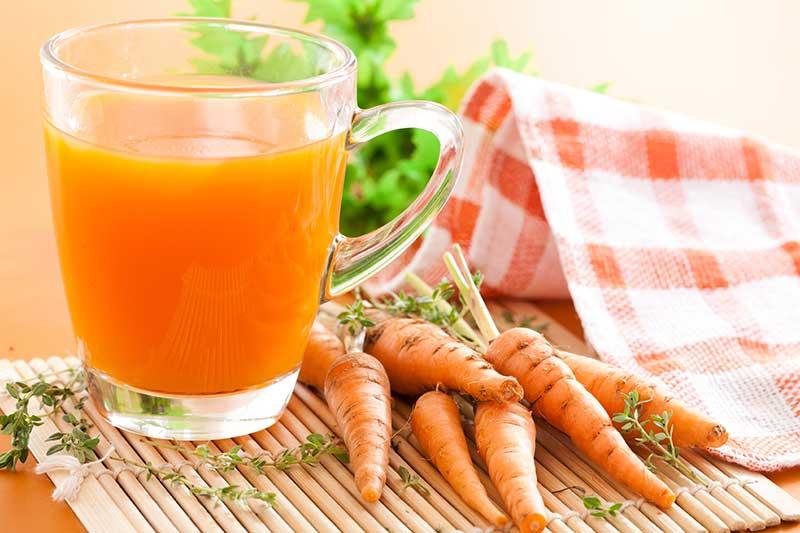 Chất xơ trong cà rốt thúc đẩy quá trình tiêu hóa của cơ thể