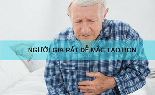 Táo bón do khí hư dễ mắc ở người già