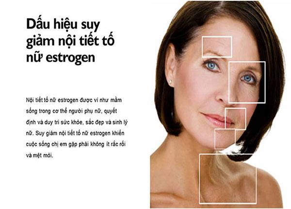 Suy giảm nội tiết tố nữ estrogen ảnh hưởng rất nhiều đến sức khỏe chị em phụ nữ